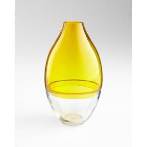 Small Mellow Yellow Vase