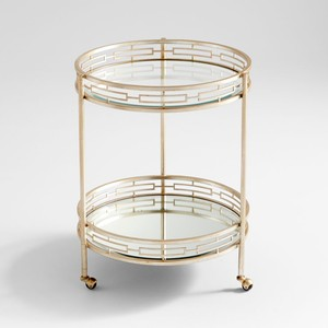 Gilded Meridian Bar Cart   Cyan Design