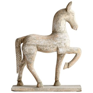 Large Rustic Canter Sculpture
