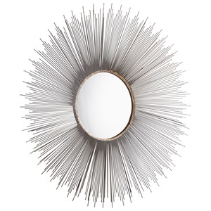 Large Aludra Mirror | Cyan Design