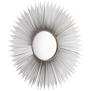 Large Aludra Mirror | Cyan Design