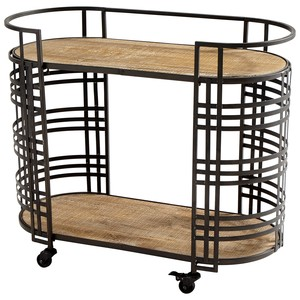 Banded About Bar Cart | Cyan Design
