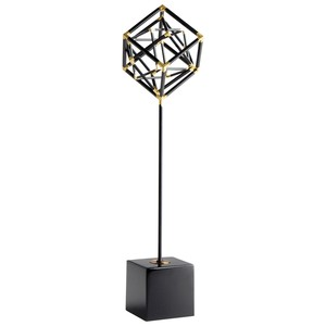 Large All the Right Angles Sculpture   Cyan Design