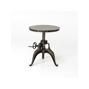Crank End Table | Four Hands