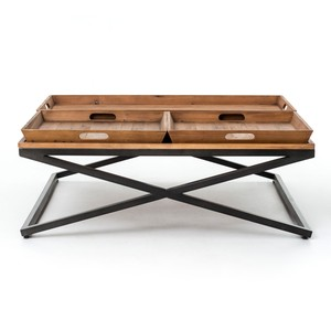Jax Coffee Table | Four Hands