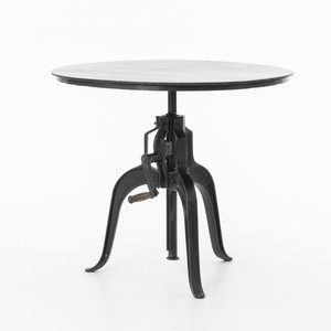 Rockwell Crank-Adjustable Side Table | Four Hands