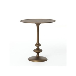 Marlow Matchstick Pedestal Table | Four Hands