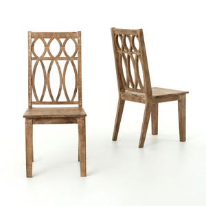 Whitewash Magnolia Dining Chair