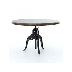 Rockwell Adjustable Round Dining Table | Four Hands