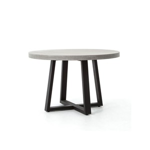 Cyrus Round Indoor/Outdoor Dining Table | Four Hands