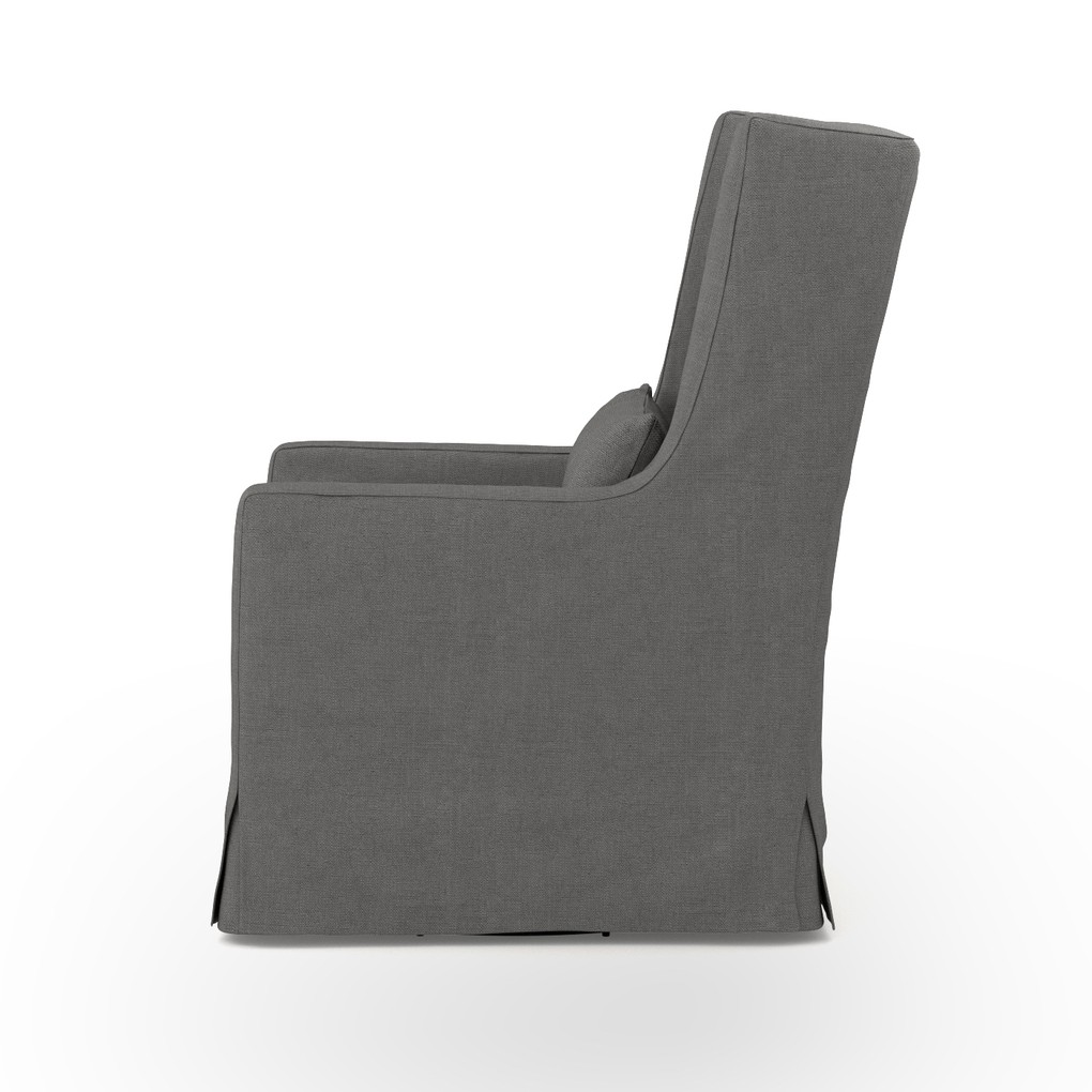 Swivel Wing Chair   Four Hands