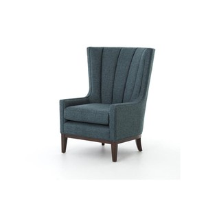 Channeled Wing Chair | Four Hands