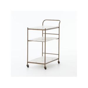 Felix Rectangular Bar Cart | Four Hands