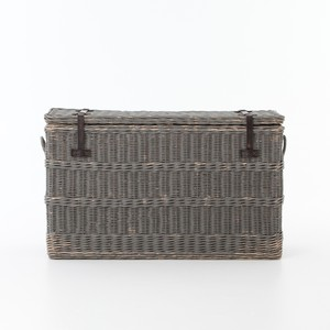 Wicker Console Trunk   Four Hands