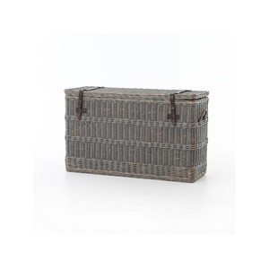 Wicker Console Trunk | Four Hands
