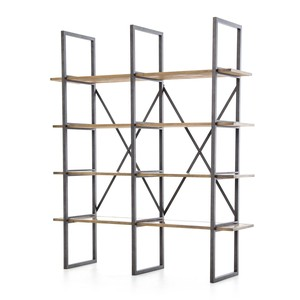 Shane Double Bookshelf | Four Hands