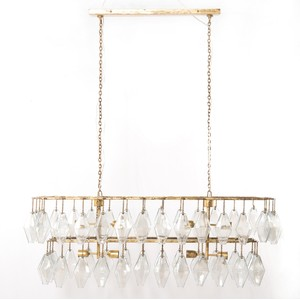 Adeline Rectangular Chandelier | Four Hands