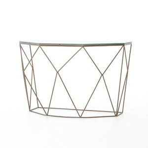 Geometric Console Table | Four Hands