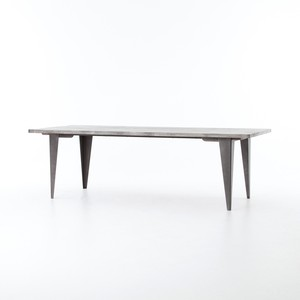 Charcoal and Iron Dining Table | Four Hands