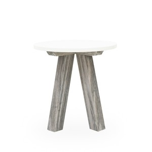 Paxton Round Side Table | Four Hands