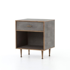 Shagreen Bedside Table