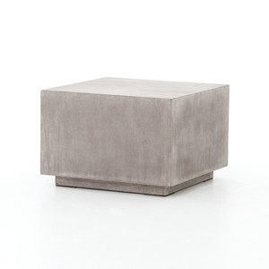 Parish Concrete Indoor/Outdoor Cube | Four Hands