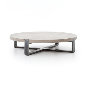 Mercury Round Coffee Table | Four Hands