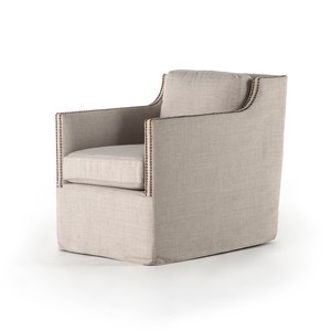 Lucca Swivel Chair | Four Hands