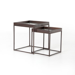Nesting Nightstands (Set of Two)