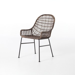 Bandera Outdoor Low-Arm Dining Chair