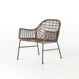 Bandera Outdoor Woven Club Chair | Four Hands