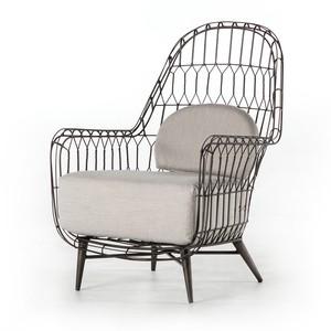 Manten Indoor/Outdoor Wing Chair | Four Hands