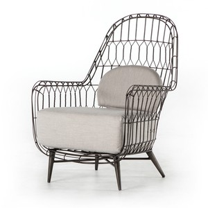 Manten Indoor/Outdoor Wing Chair | Four Hands