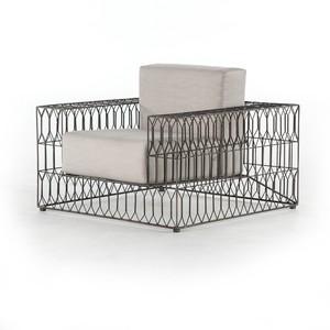 Torrance Indoor/Outdoor Club Chair | Four Hands