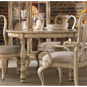 Round Leg Dining Table | Hooker Furniture