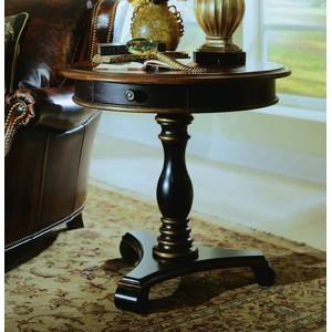 Preston Ridge Pedestal Accent Table | Hooker Furniture