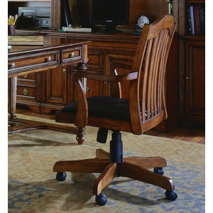 Brookhaven Tilt Swivel Chair | Hooker Furniture