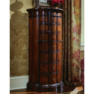 Shaped Jewelry Armoire | Hooker Furniture