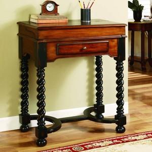 Jacobean Twist Leg Flip-Top Writing Desk | Hooker Furniture