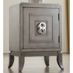 Easton Chairside Chest | Hooker Furniture
