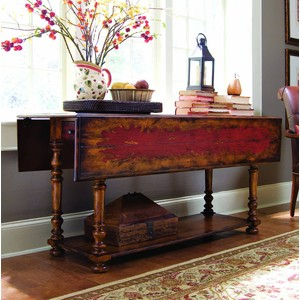 Vicenza Drop-Leaf Console Table