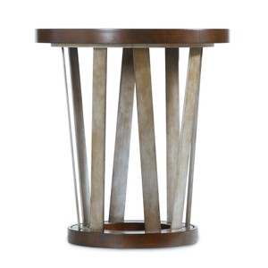 Lorimer Round End Table | Hooker Furniture