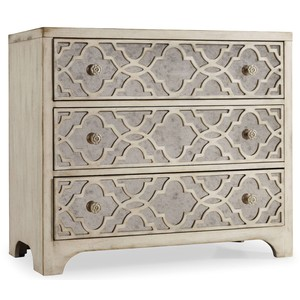 Pearl Essence Fretwork Chest | Hooker Furniture