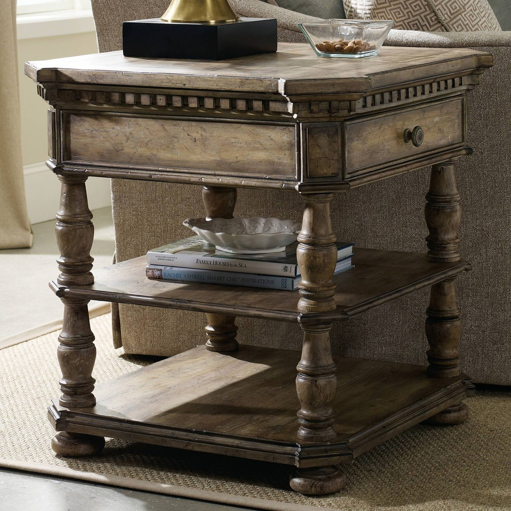 Sorella End Table | Hooker Furniture