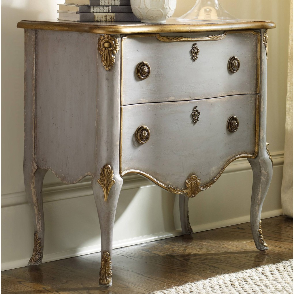 French Two-Drawer Chest | Hooker Furniture