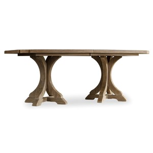 Corsica Rectangle Pedestal Dining Table