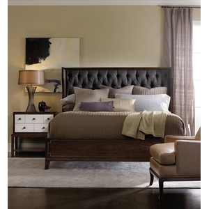 Palisade Two-Drawer Nightstand   Hooker Furniture