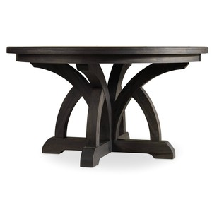 Corsica Dark Round Dining Table