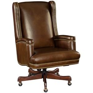 Wilmer Executive Swivel Tilt Chair | Hooker Furniture