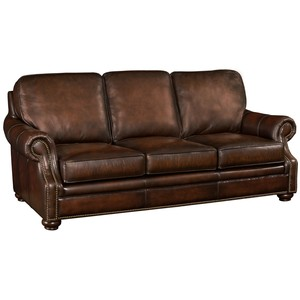 Montgomery Sofa in Sedona Chateau Leather | Hooker Furniture